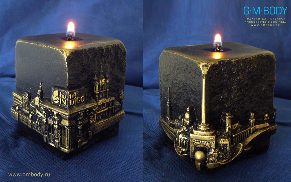 Подарки свечи с фото 405